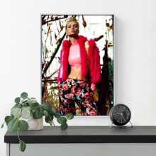 Fashion Modern Girl Magazine Wall Pictures For Living Room Affiche Vogue Art Canvas Painting Nordic Poster Picture Unframed