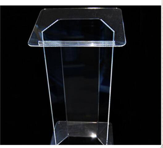 Clear Acrylic Podium Acrylic Lectern Lucite Chruch Podium/Transparent Pmma Pulpit