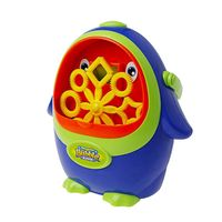 Penguin Bubble Machine Automatic Blower Maker Baby Kids Bath Shower Swimming Toy With Music Indoor Outdoor