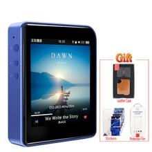 Shanling M1 Bluetooth APTX Mini DDS DDS Lossless Reproductor de Música MP3 Portátil + caso de cuero + película protectora de la pantalla libre