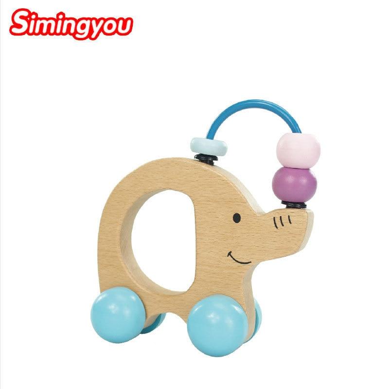 Simingyou Wooden Toys Grasp The Elephant Grips Educational Games For Children C20-Q-01 D ...