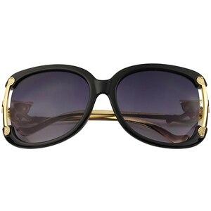 Image 3 - Sunglasses Women Luxury Brand Designer Ladies Alloy Frame Gold Fox Decoration Sun Glasses Girls 4 Colors