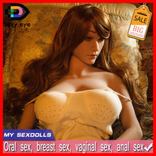 New Big Breasts Japanese Female Full Siize Silicone 158cm Sex Dolls With Skeleton Real Solid Anime Love Dolls For Men
