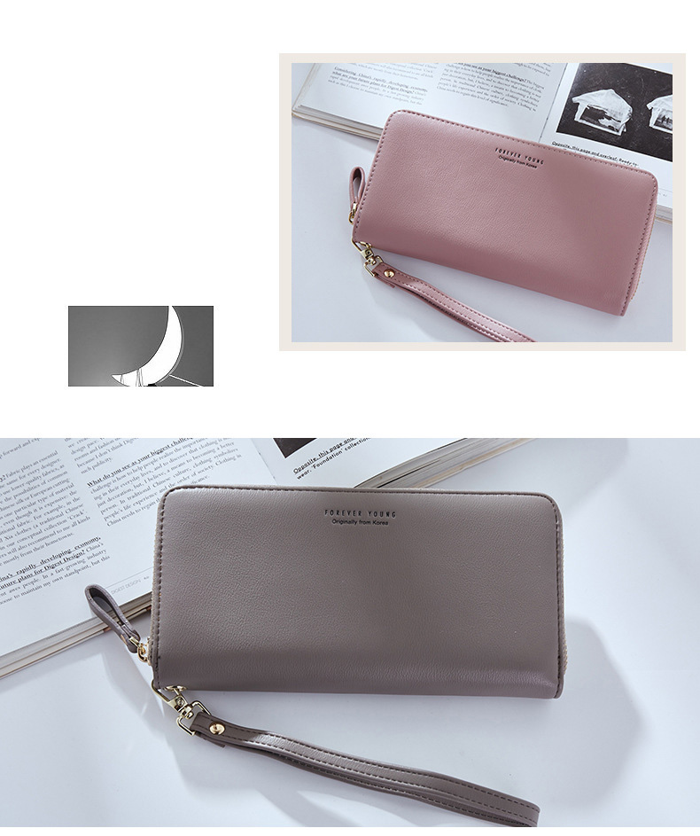 Women Long Clutch Wallet Large Capacity Wallets Female Purse Lady Purses Phone Pocket Card Holder Carteras 14
