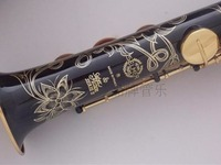 SELMER High Pitch Soprano Saxophone One Piece Straight B Flat Sax Top Musical Instrument Sax Boquilha
