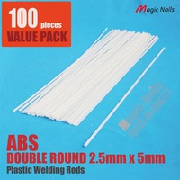 ABS Plastic Welding Rods Sticks For Plastic Welder Automotive Bumper Kit Repairs ABS 100