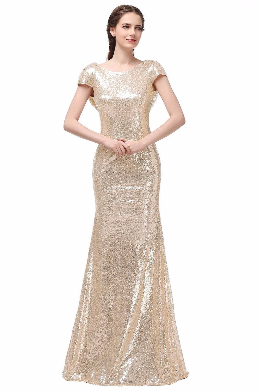Compare prices on gold champagne bridesmaid dresses for Champagne gold wedding dress