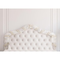 Baroque Bed Headboard Tufted Bed Photography Backdrop Thin Vinyl Photo Studio Background Wallpaper F 2515