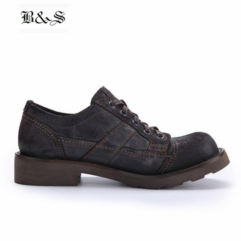 Туфли на плоской подошве с заклепками, женская обувь, белая кожаная женская обувь на рифленой подошве, весенне осенняя Новая повседневная о... - 3