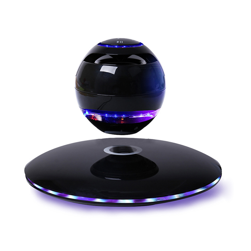 New Magnetic Levitating Wireless Bluetooth Speaker Multi Led Light Round Subwoofer Box Separate Rotation For Iphone Xiaomi Us New Magnetic Levitating Wireless Bluetooth Speaker Multi Led Light Round Subwoofer Box Separate Rotation For Iphone Xiaomi Us