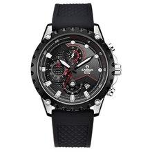 Marca relojes de lujo hombres 2016 Top moda casual encanto luminoso deporte multi-función de reloj de cuarzo resistente al agua 100 m CASIMA #8203