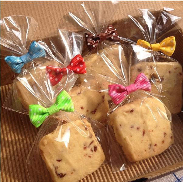 6 color bowknot dot twist ties twine bakers packaging rope home diy cake bread seal casing - Bread Ties Color