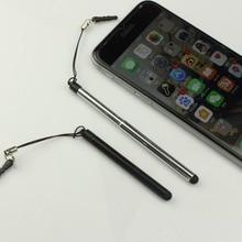 Выдвижная универсальная ручка для сенсорного экрана, емкостный стилус для смартфона, планшета, для iPad, круглый тонкий наконечник