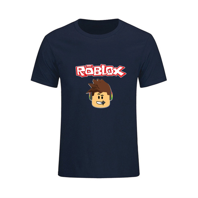 US $5 81 46% OFF|New High Quality Clothes Men's Roblox T Shirts 3d Big Size  Round Collar Youth Natural Cotton male Tshirts 6xl rashguard t shirt-in