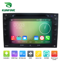 Octa Core 1024*600 Android 6.0 Car DVD GPS Navigation Multimedia Player Car Stereo for Renault Megane 2003 2010 Radio with Wifi