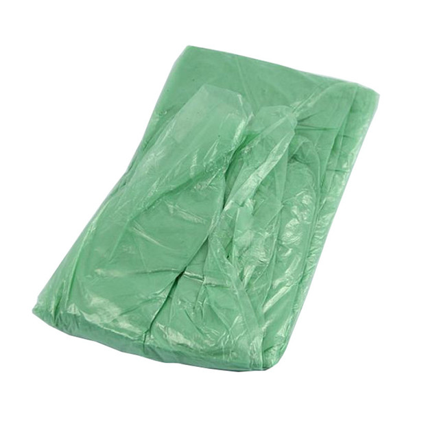 10pcs Disposable Adult Emergency Waterproof Rain Coat Poncho Hiking Camping Hood Outdoor Fishing Golf Child Adult Raincoat #20