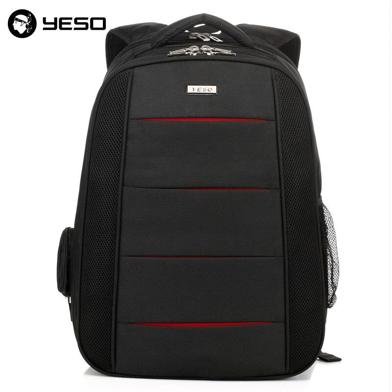 ФОТО Yeso Women Men's Waterproof Laptop Backpacks Fashional Casual Travel Backpack Business School Bags
