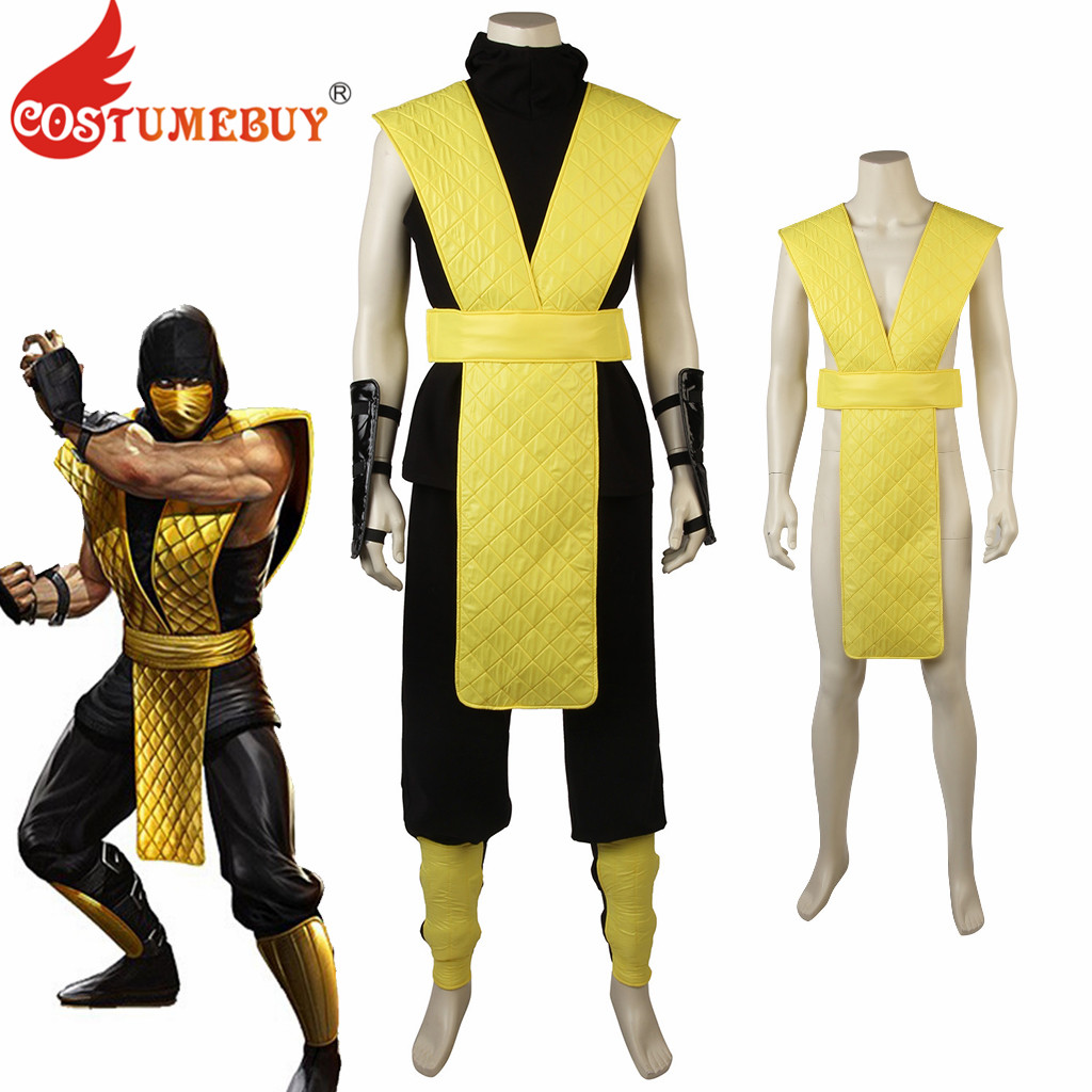 CostumeBuy Game Mortal Kombat X Scorpion Cosplay Costume ...