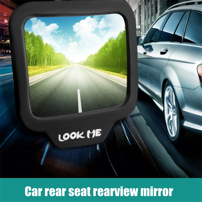 270 degree wide-angle lens design Car rear seat rearview mirror Back Row Rear View Mirror children observed Interior Mirror