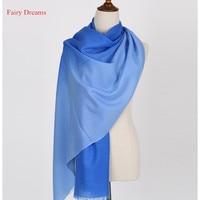 Fairy Dreams Cashmere Scarf 100 Wool Women S Scarves 2017 Winter Pashmina Gradient Female Poncho Luxury