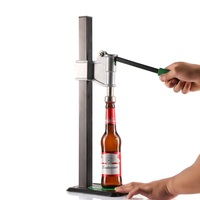 Beer Bottle Capper Auto Lever Bench Capper For Home Brew Keg Soda Crown Capping High Quality