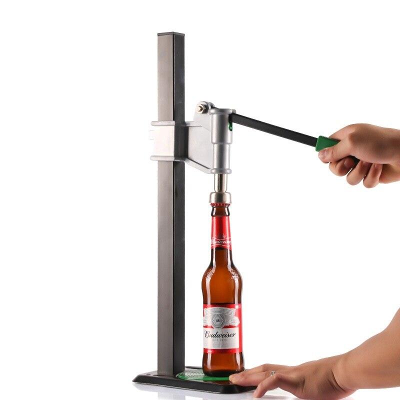 Bouteille de bière Capper automatique levier banc Capper pour la maison brassage Keg Soda couronne capsulage de haute qualité