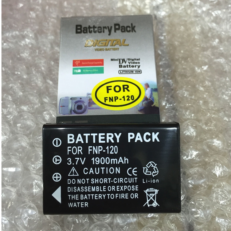 NP-120 FNP120 lithium batteries NP 120 Digital camera battery NP120 For Fujifilm FinePix F10 F11 Zoom M603 MX4 603
