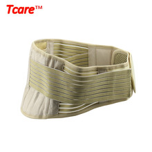 Tcare Adjustable Self-heating Tourmaline Waist Brace Support Waist Trainer Magnetic Therapy Waist Belt Lumbar Care Braces