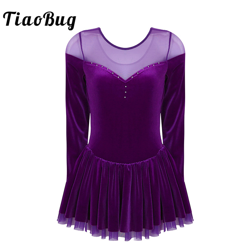 tiaobug-women-long-sleeve-velvet-figure-skating-dress-adult-font-b-ballet-b-font-tutu-dress-gymnastics-leotard-ballerina-stage-dance-costume