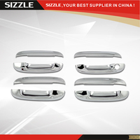 ABS Plating Chrome Door Handle Cover For Chevrolet Trailblazer 2002 2009 Compatible For Cadilla CTS/Envoy