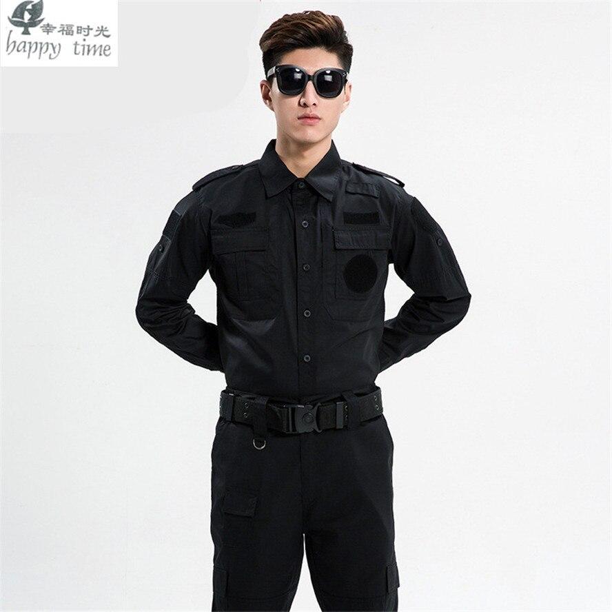 Happy time uniforme militaire vêtements de sécurité armée de l'uniforme de combat militaire vêtements de garde tactique - 3