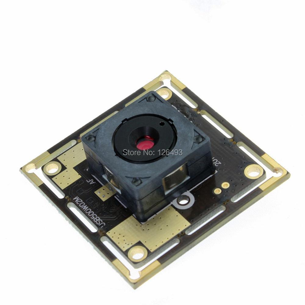 5 mégapixels 2592*1944 MJPEG & YUY2 mini vidéo usb 2.0 module de caméra autofocus android, Support AEC d'exposition automatique