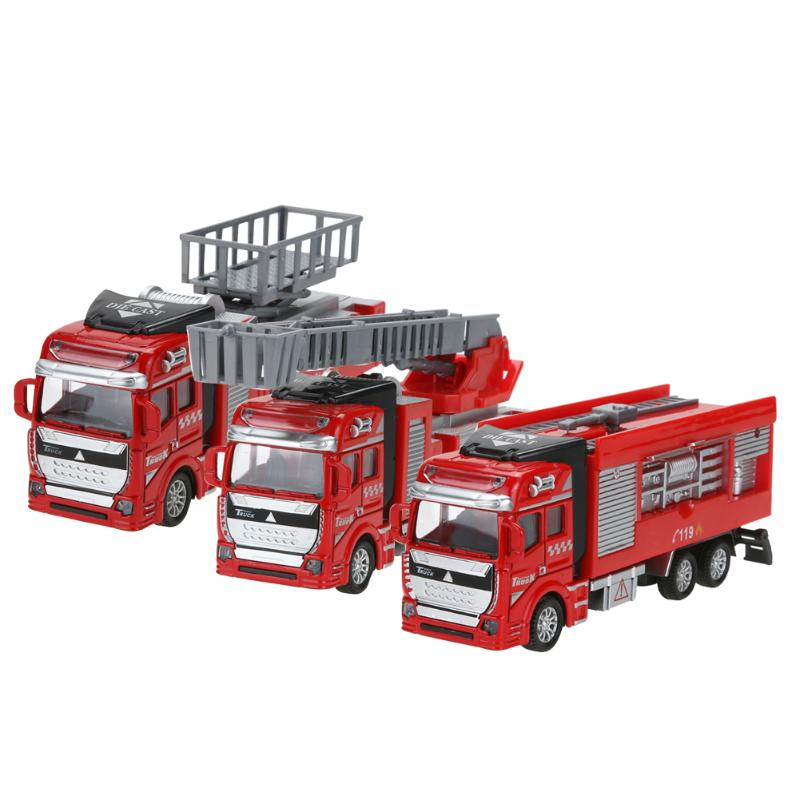 Hot Sale 1:48 Scale Pull Back Alloy Construction Vehicles Car Model Kids Children Boys Car Toy Best Birthday Christmas Gift