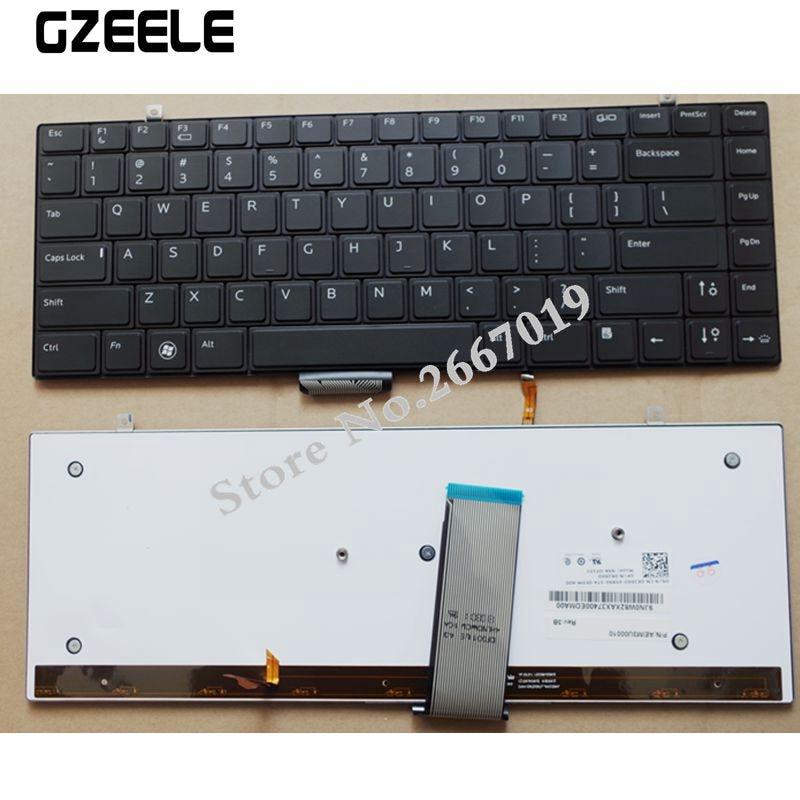for Dell Studio XPS 1340 1640 1645 1647 PP17S Black US Backlit Laptop Keyboard