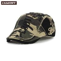 Brief geborduurde katoen cap patchwork ontwerp 2017 nieuwe lente mode camouflage mannen caps hoeden mannen casual vintage caps