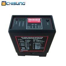 Parking Dual Channel Vehicle loop Detector PD232 model car barrier gate loop detector
