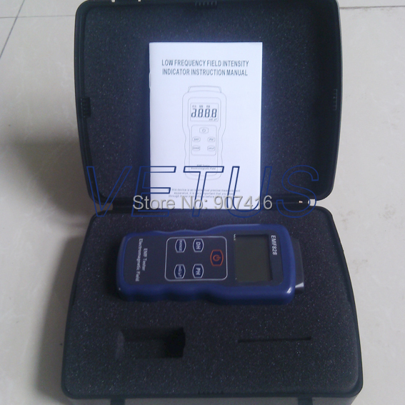 Professional Field intensity Indictor of Low Frequency Emf Meter price EMF828