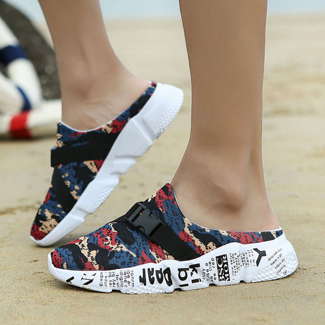 2019 Men Shoes Slippers Thick bottom Lightweight Breathable Comfortable Walking Male Sneakers Sapatos masculinos Footwear 3