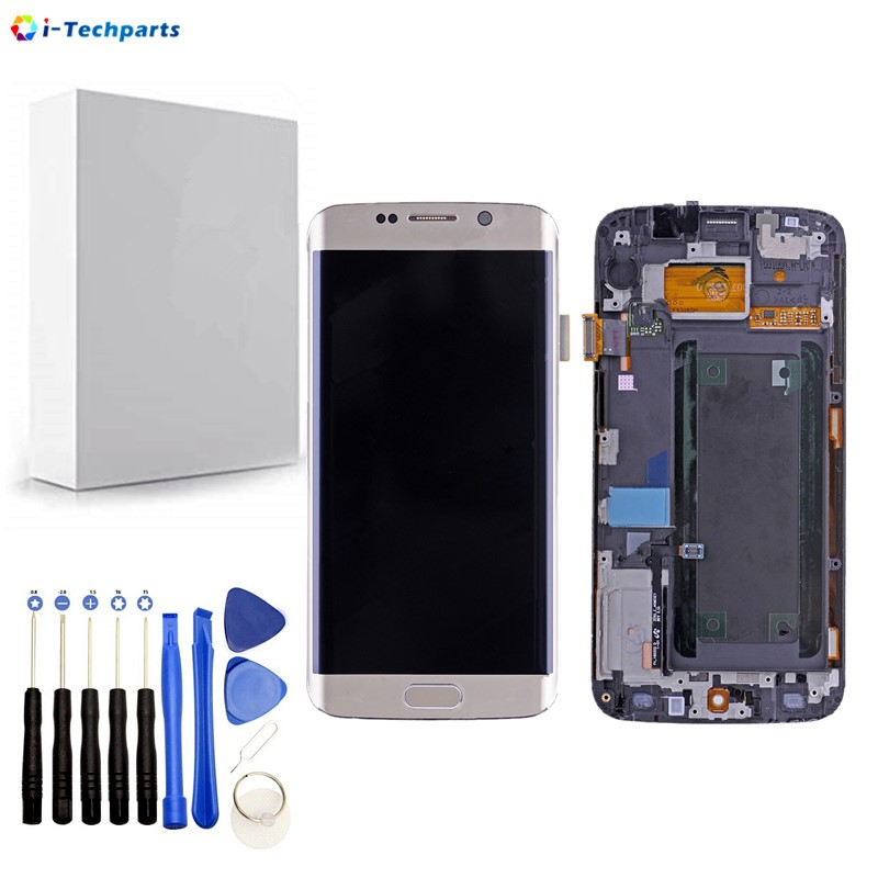 Replacement Parts for Samsung Galaxy S6 Edge SM-G925 Display LCD Screen and Digitizer Assembly G925f G925i G925v G9250,GoldReplacement Parts for Samsung Galaxy S6 Edge SM-G925 Display LCD Screen and Digitizer Assembly G925f G925i G925v G9250,Gold
