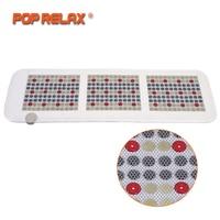 POP RELAX Корея Технология здоровья матрас магнит пихта красный светодиодный, фотонный терапии нефрита турмалиновая грелка Массажный коврик м