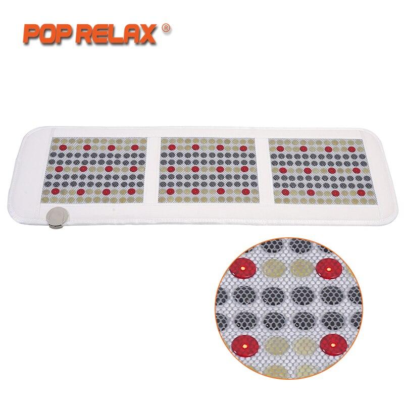 POP RELAX Корея Технология здоровья матрас магнит пихта красный светодиодный, фотонный терапии нефрита турмалиновая грелка Массажный коврик м...