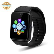 Smart uhr Android smartwatch bluetooth paarung smart gesundheit Uhr T-Flash/sim-karte fitness uhr tragbare geräte