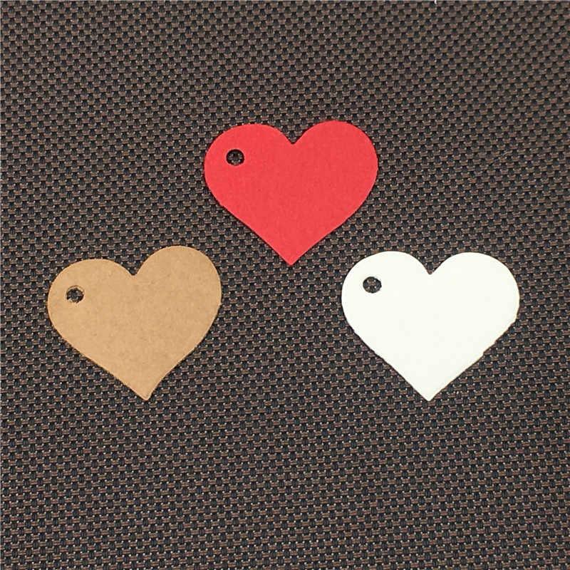 Etiqueta de papel kraft vintage de 50 piezas, regalo hecho a mano DIY, tarjeta de precio de caramelo, etiqueta de decoración de boda