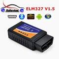 Горячие Продажи OBD2 V1.5 ELM 327 Bluetooth Диагностический Сканер Can-bus ELM327 Bluetooth V1.5 Scan Свет Двигателя Проверки Автомобилей Code Reader