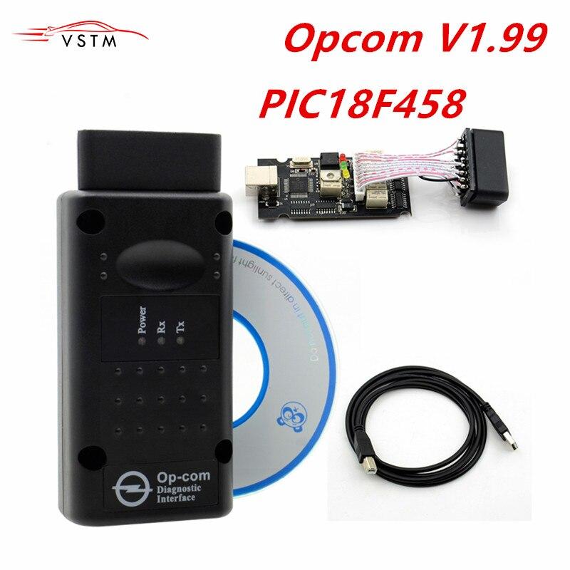 OPCOM 1.99 1.78 V1.70 Para Opel Diagnostic Scanner OP com CANBUS V1.59 OP-COM OBD2 super scanner frete grátis