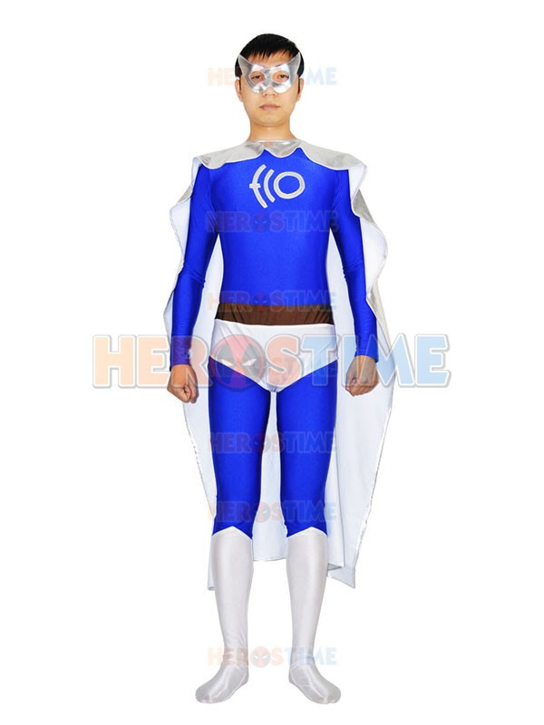 ECO Man Superhero Costume the most popular Spandex & Metallic halloween cosplay Man costume zentai suit  free shipping