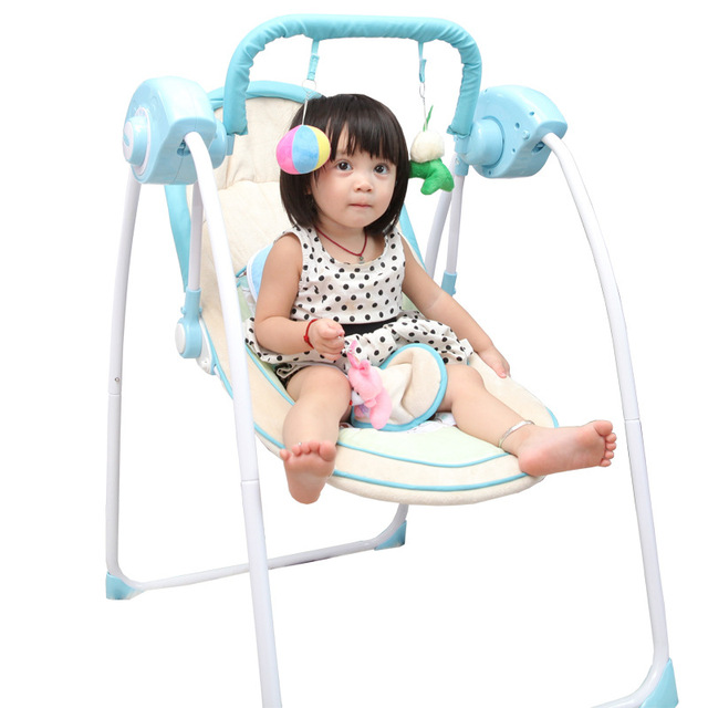 2016 Hot Sale Emperorship Electric Baby Rocking Chair Baby Rocking Chair Chaise Lounge Chair Cradle Bed Swing Free Shipping