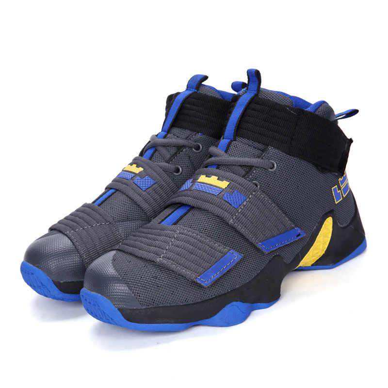 Бетонный пол высокие баскетбольные кроссовки для мужчин Дети дешевая пара взрослых Джеймс Харден крутые кроссовки zapatos baloncesto горячий черный