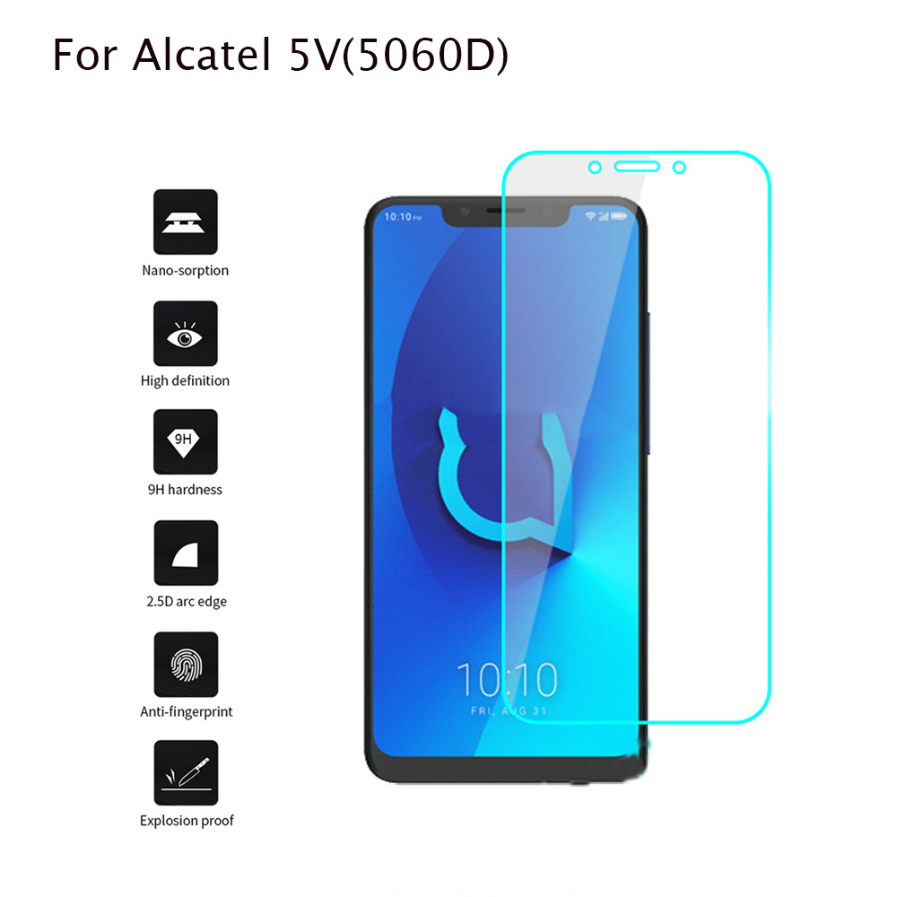 2pcs Alcatel 5V 5060D 6.2 Inch Tempered Glass 9H High Quality Protective Film Explosion-proof Protector For Alcatel 5 V 5060D