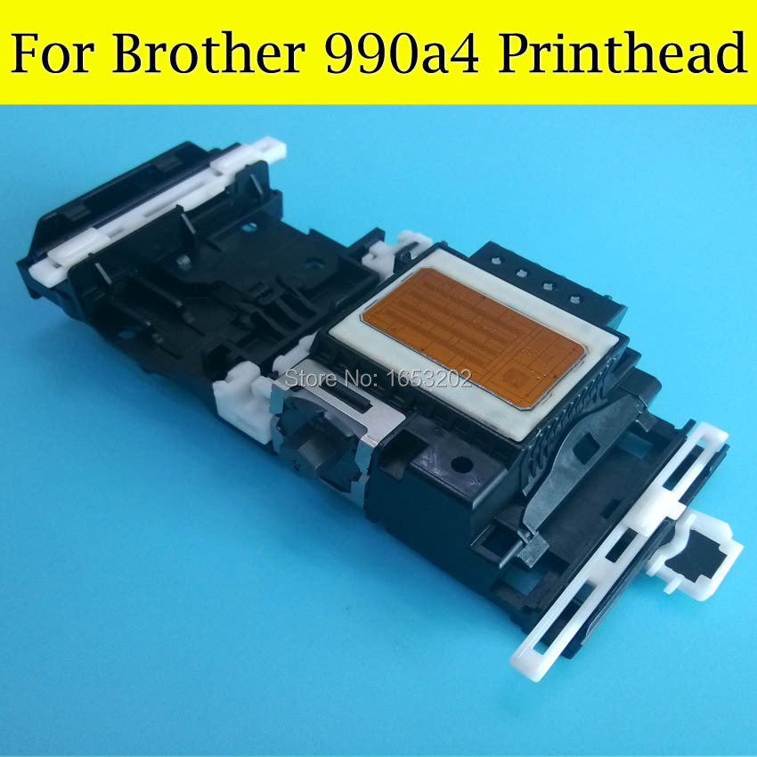 1 PC 100% Original Printhead 990 A4 990a4 Print head For Brother J125 J140 J220 J315 J515 J265 255 495 795 Printer Head printhead 990 a4 for brother printer mfc 255cw mfc 795 j125 j410 j220 j315 dcp 195 for brother print head printer head 990a4